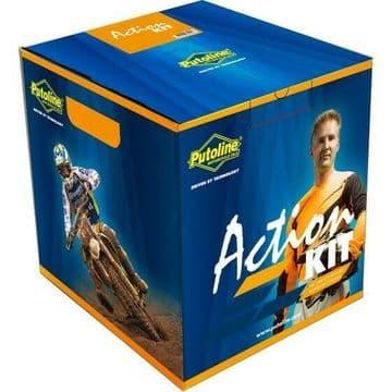 Putoline Action Kit Complete MX Off Road Motorbike Foam Air Filter Service Kit